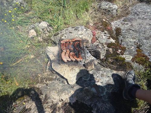 Saucisses grillées au menu !