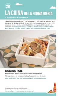 Sitges Tapa a Tapa 2018 - La Cuina de la Formatgeria