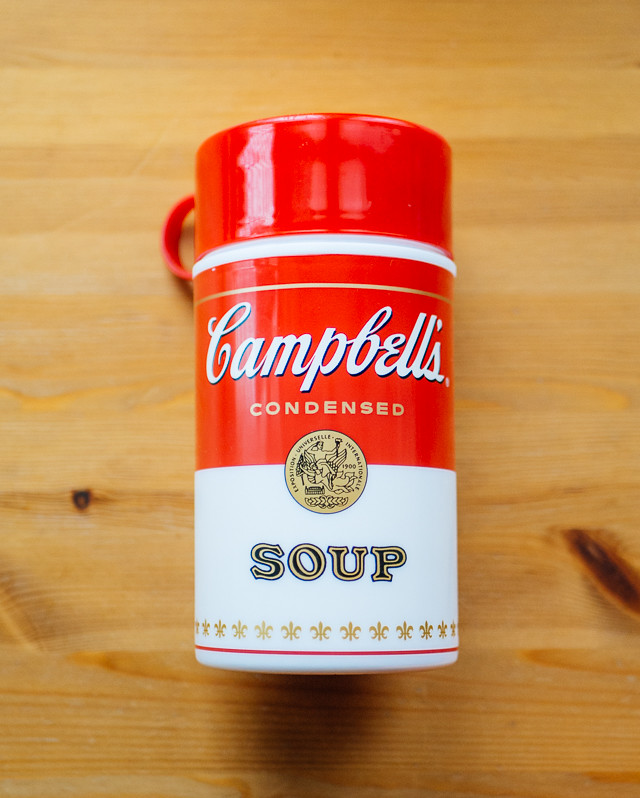 campbells soup flask