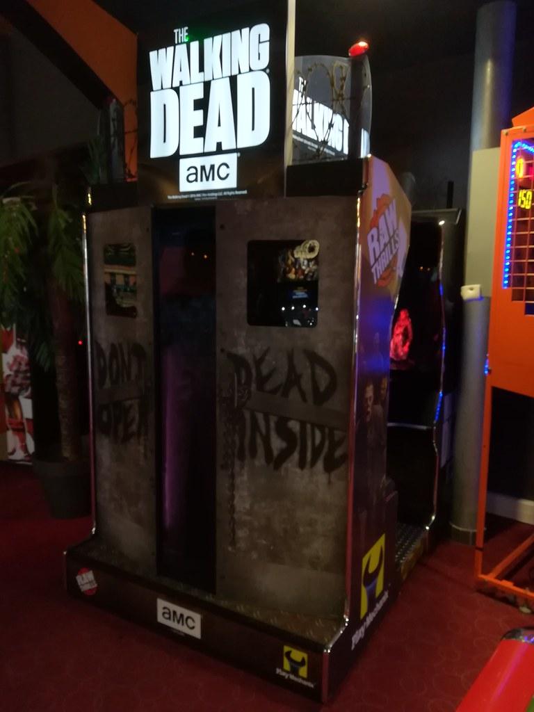 borne arcade walking dead