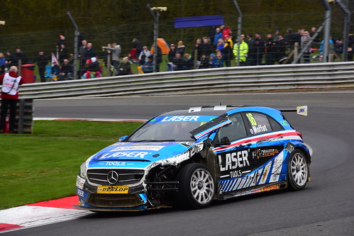 Aiden Moffat, Mercedes Benz A-Class, British Touring Car Championship, Brands Hatch Indy 2018
