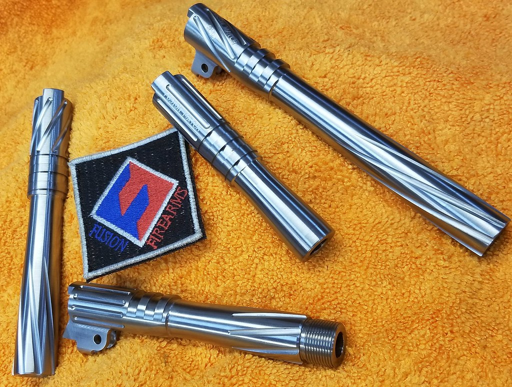 Fusion Firearms Barrel Compensators - 1911Forum
