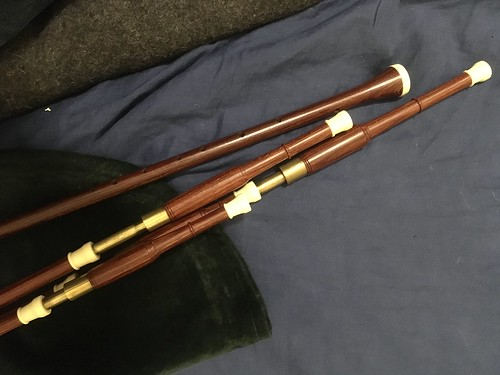FS: Hamish Moore Scottish smallpipes in A, permali, $1350 shipped conus (bellows available) | by bepoq