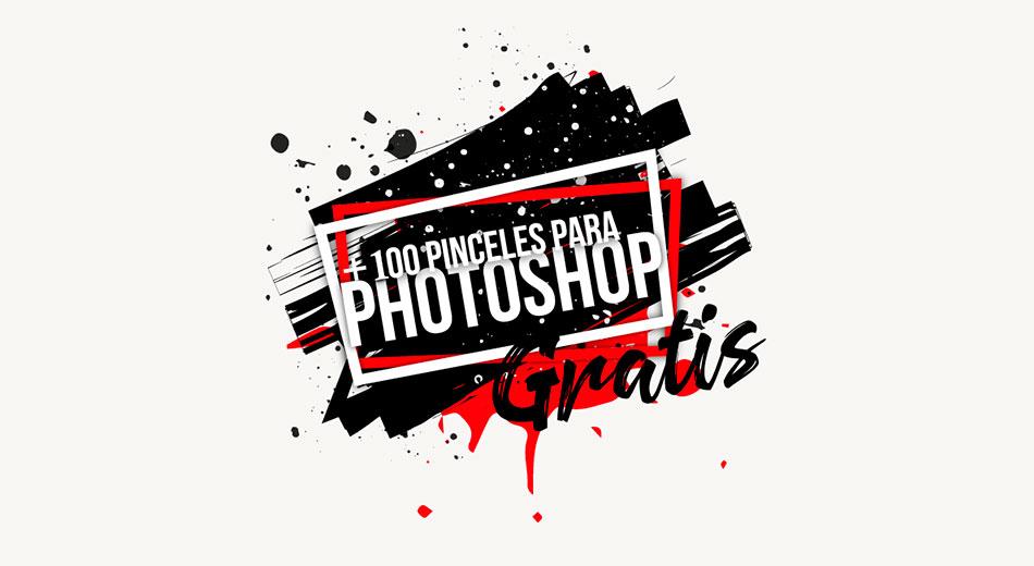 Pack Con Más De 100 Pinceles Premium Gratuitos Para Photoshop