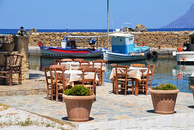 Harbour Taverna, Crete