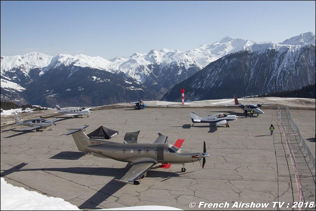 Fly Courchevel 2018 - Altiport Courchevel , Meeting Aerien 2018