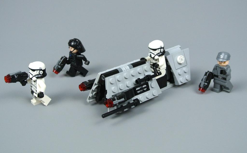 Review 75207 Imperial Patrol Battle Pack Brickset Lego Set Guide