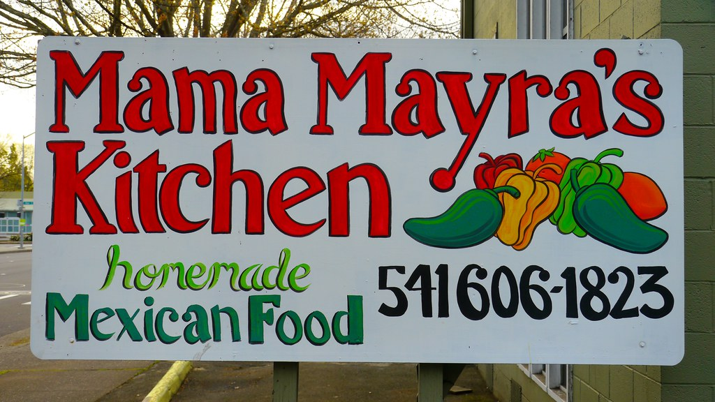 Mama Mayras Kitchen Sign In Eugene Oregon Mama Mayras O Flickr