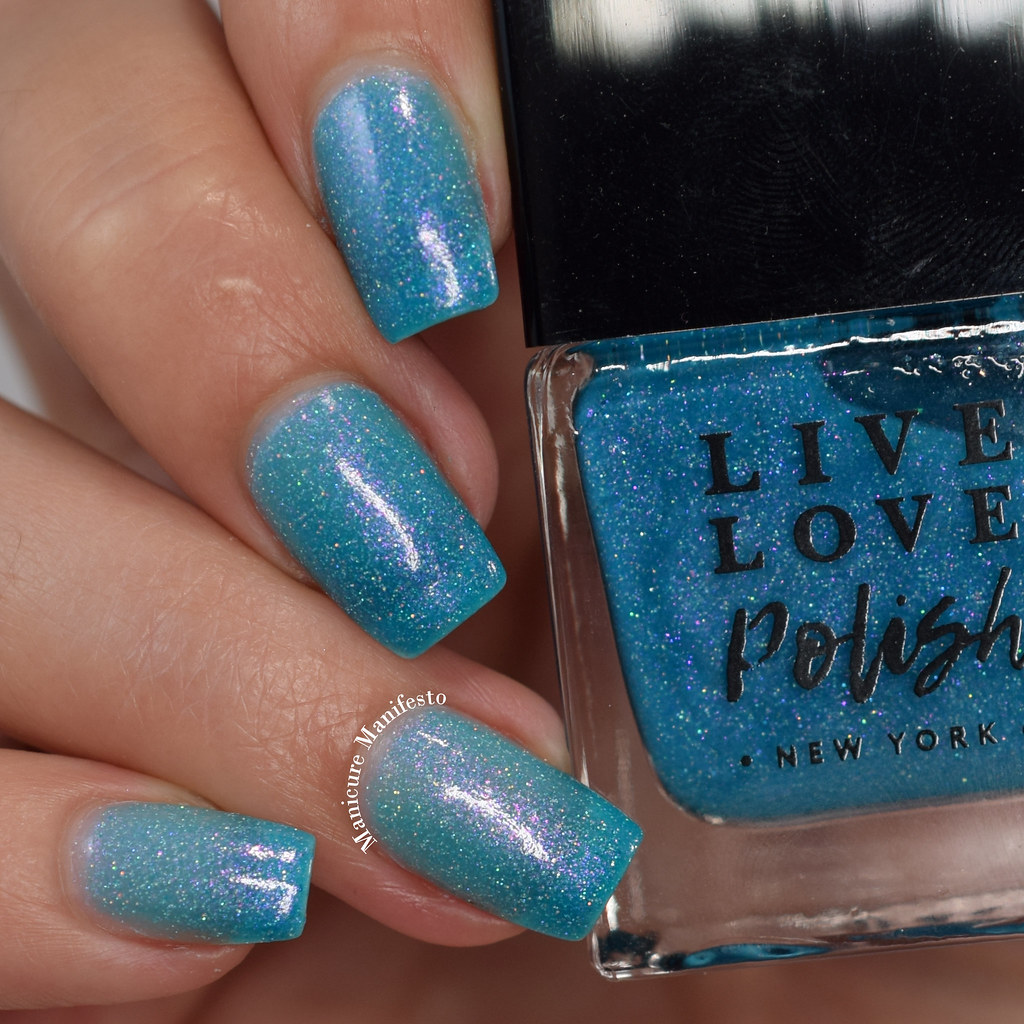 Live Love Polish Shark Spark swatch