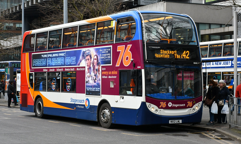 ... Stagecoach Manchester: 10045 / MX12LWL | by danielgrahamm