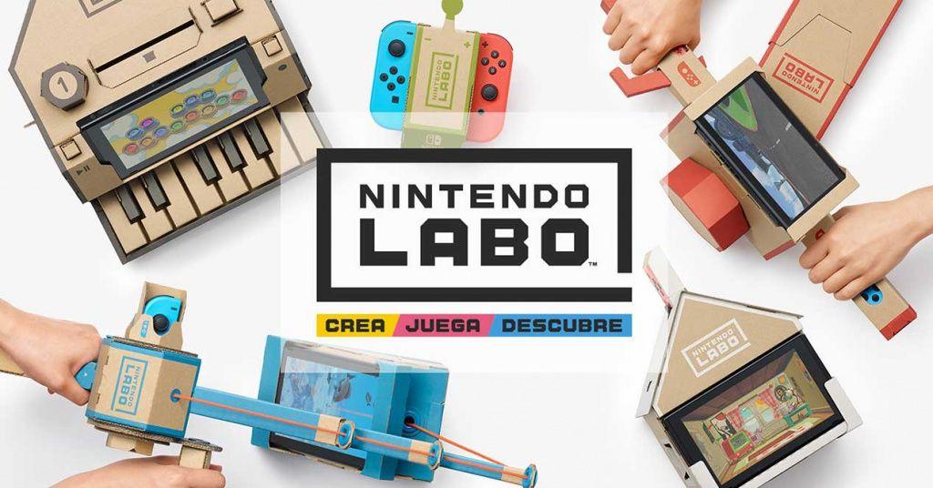 Ya puedes descargar las plantillas para imprimir tu propio Nintendo Labo gratis