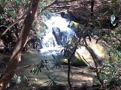 Mountaintown Creek Falls Upper Cascade