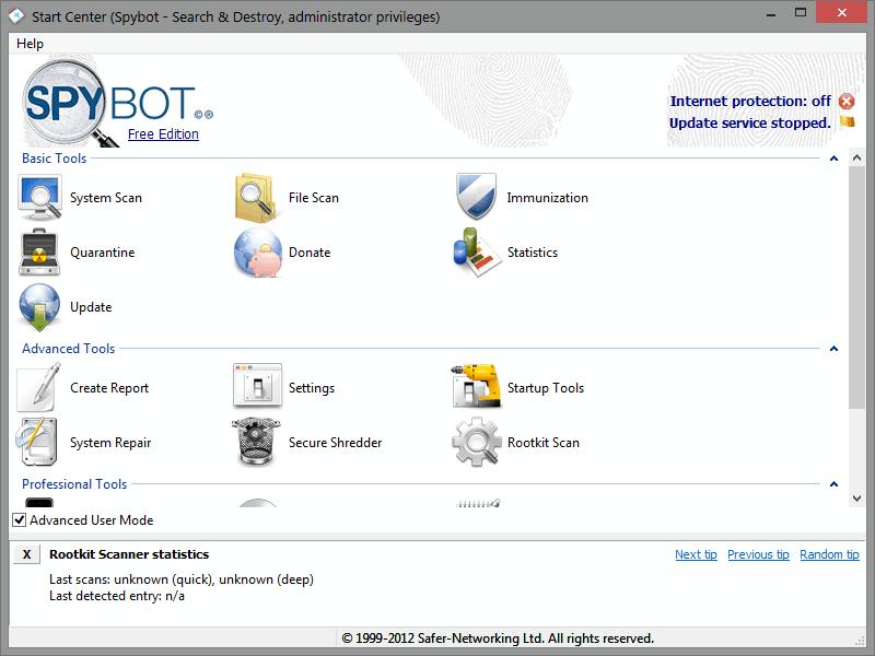 SpybotPortable
