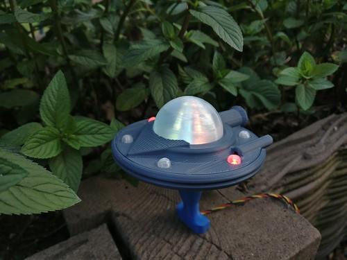 Busy Lamp - Ufo, zweiter Versuch