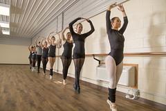 Ballet students