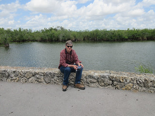 Russ on the Anhinga Trail | by Laura Erickson