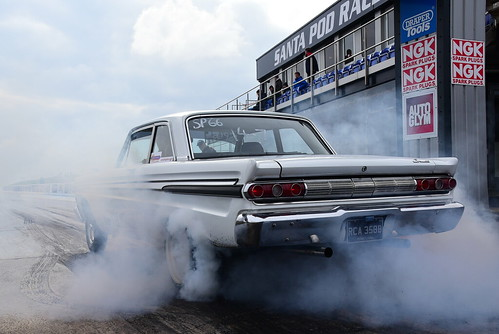 Marc Huxley, 64 Ford Comet, Sportsman ET, Festival of Power, Santa Pod 2018