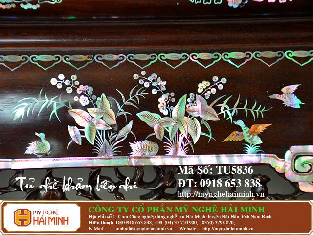 TU5836p Tu Che Kham Lien Chi do go my nghe hai minh