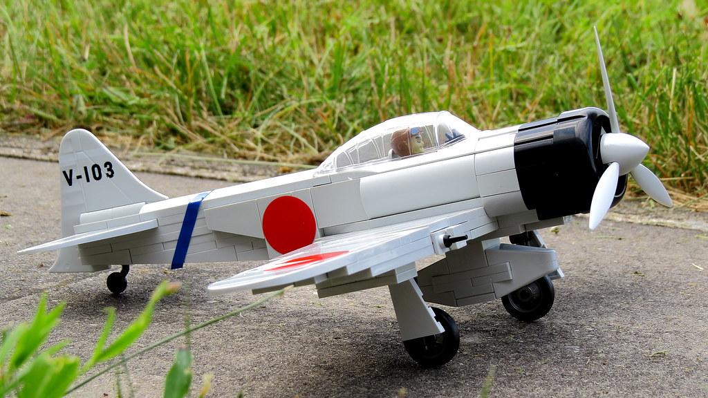 mitsubishi zero   cobi small army ww ii mitsubishi zero ~ 25…   flickr