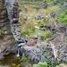 Mini waterfall on Afur route, Anaga, Tenerife