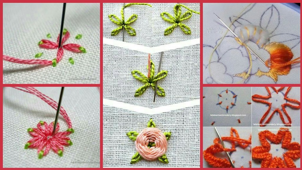 How To Make Different Hand Stitchs Simple Easy Methodh Flickr