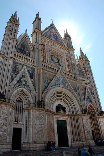 Fachada portada del Duomo de Orvieto