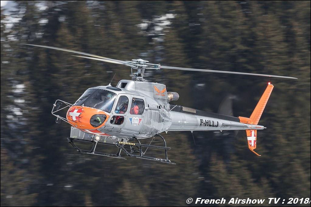 H125 - F-HLLJ , CMBH - Chamonix Mont blanc Hélico , Fly Courchevel 2018 - Altiport Courchevel , Meeting Aerien 2018