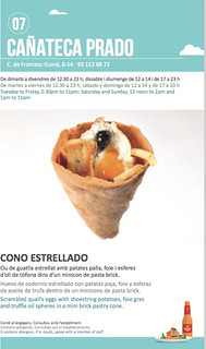 Sitges Tapa a Tapa 2018 - Cañateca Prado