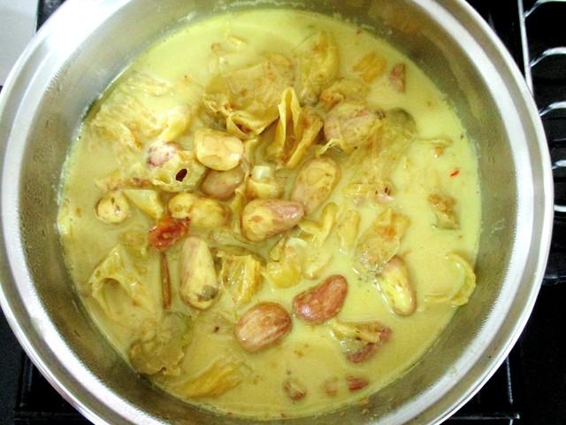 Tupang muda masak lemak 2