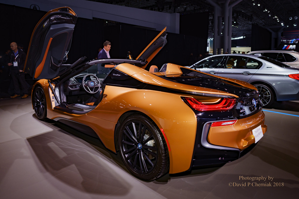 2018 Bmw I8 Roadster Gull Wing Doors 1 Of 200 E Copper Met Flickr