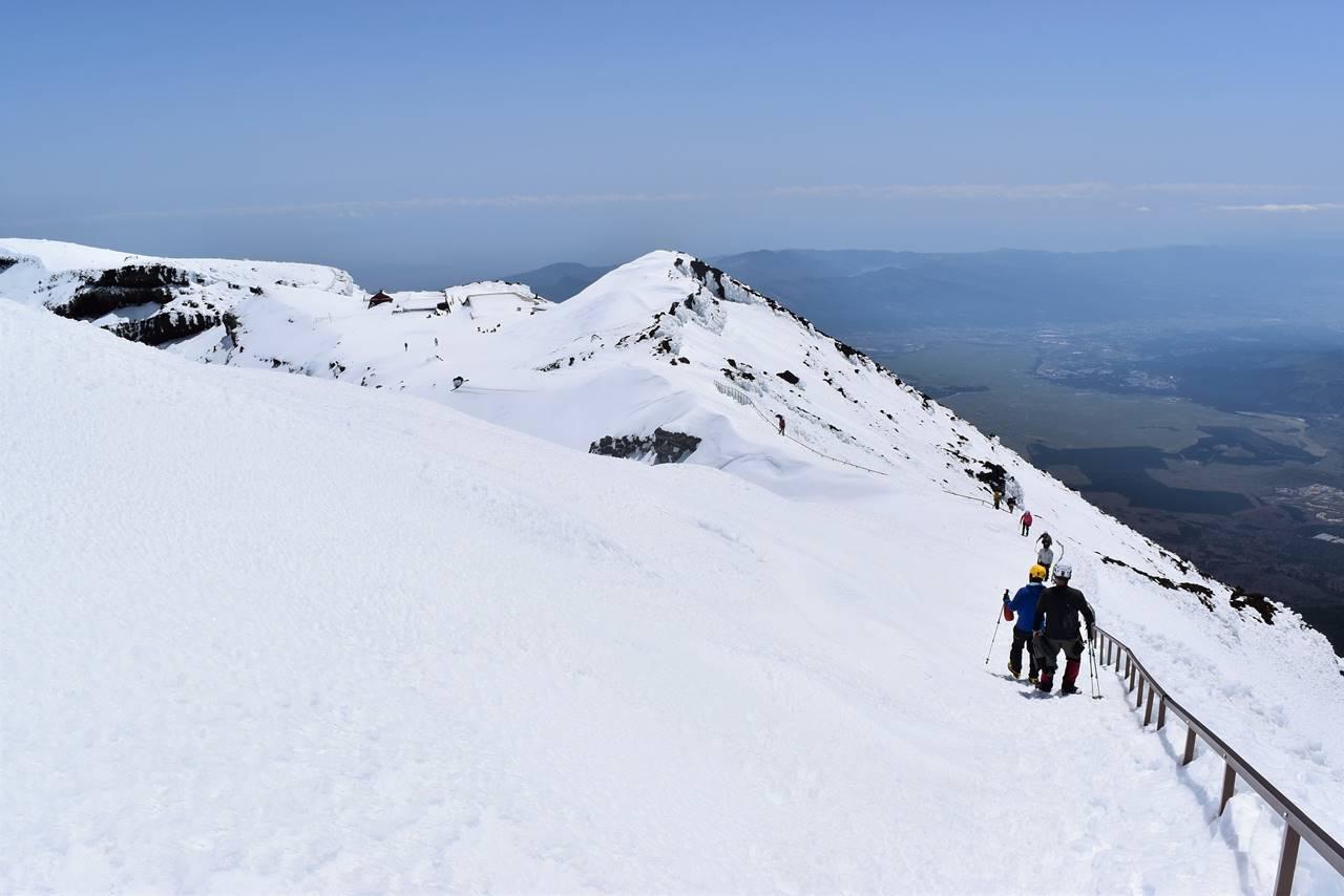 富士山剣ヶ峰から下山