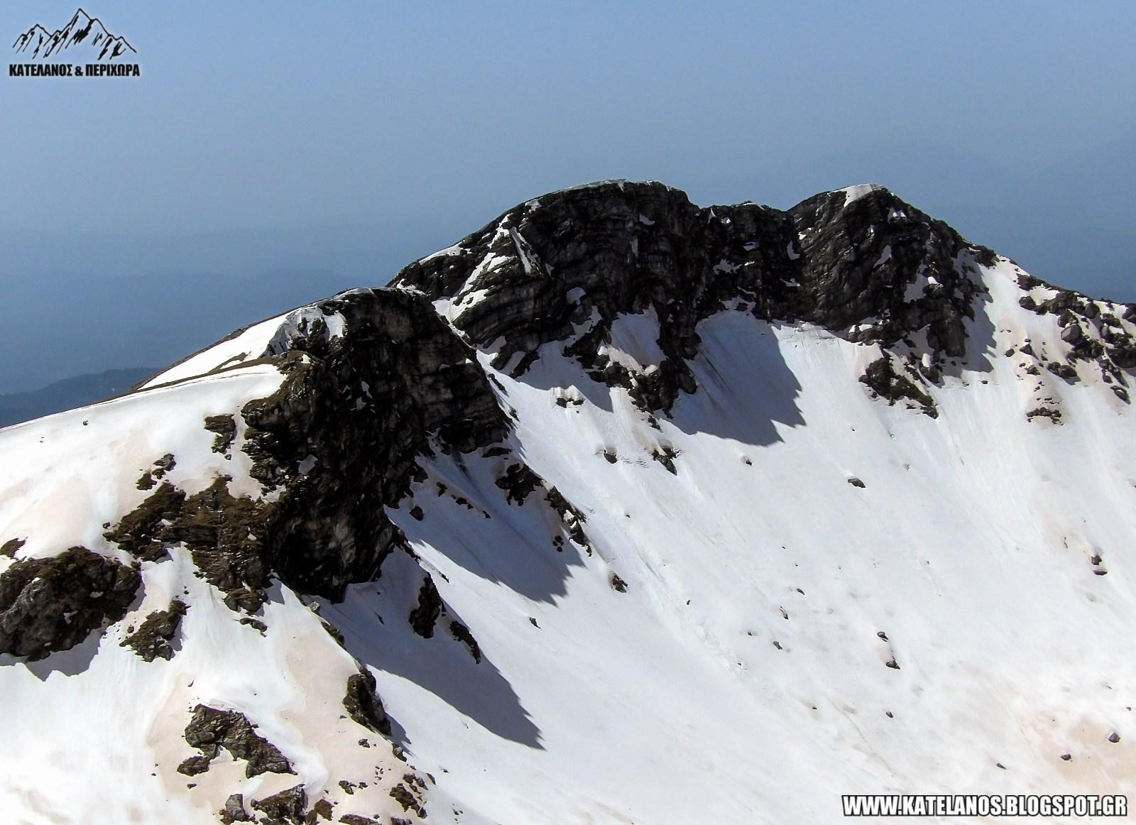 κορυφη βρωμερη ορος χατζη βουνο