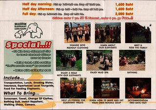 Maerim Elephant Sanctuary Brochure 3