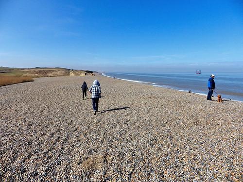 Weybournes pebble beach
