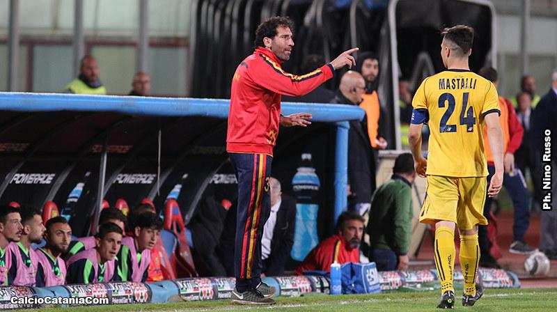 Fabio Caserta, tecnico della Juve Stabia