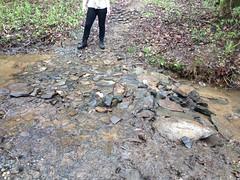 Geotextile After Big Rock