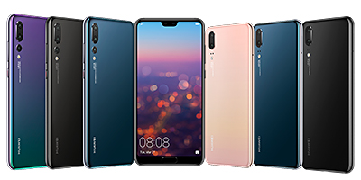 In Singapore, three colours (Black, Midnight Blue & Pink Gold) will be available for the Huawei P20. There'll also be three colours (Black, Midnight Blue & Twilight) available for the Huawei P20 Pro.