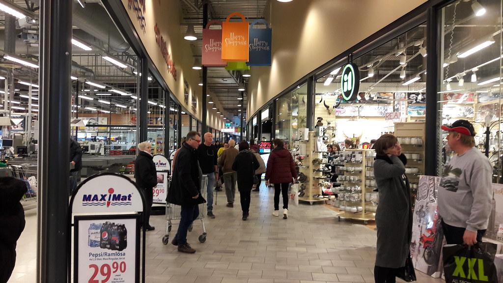 Charlottenberg Shopping March 2018 øyvind Storsveen Flickr
