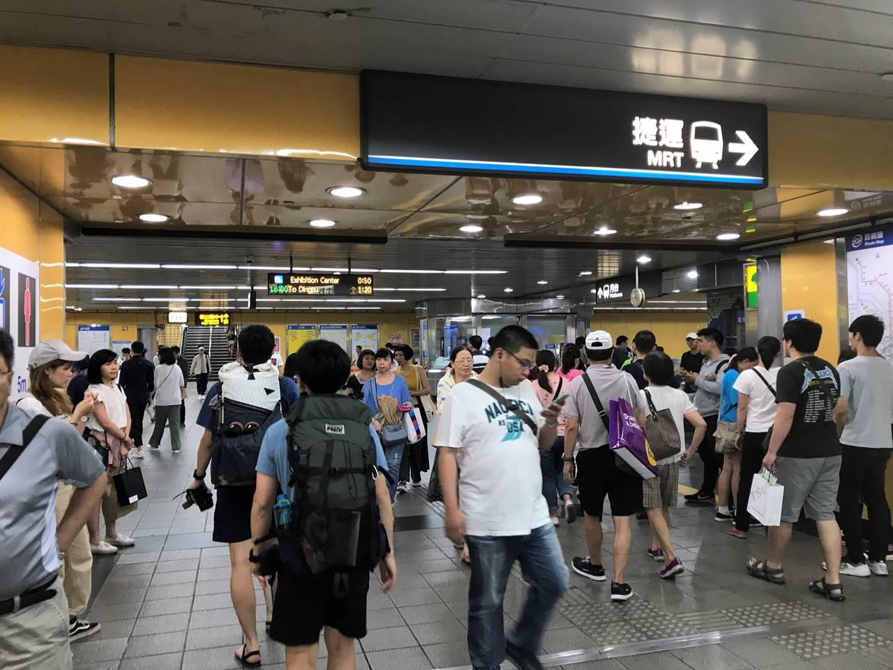 台湾の地下鉄(MRT)