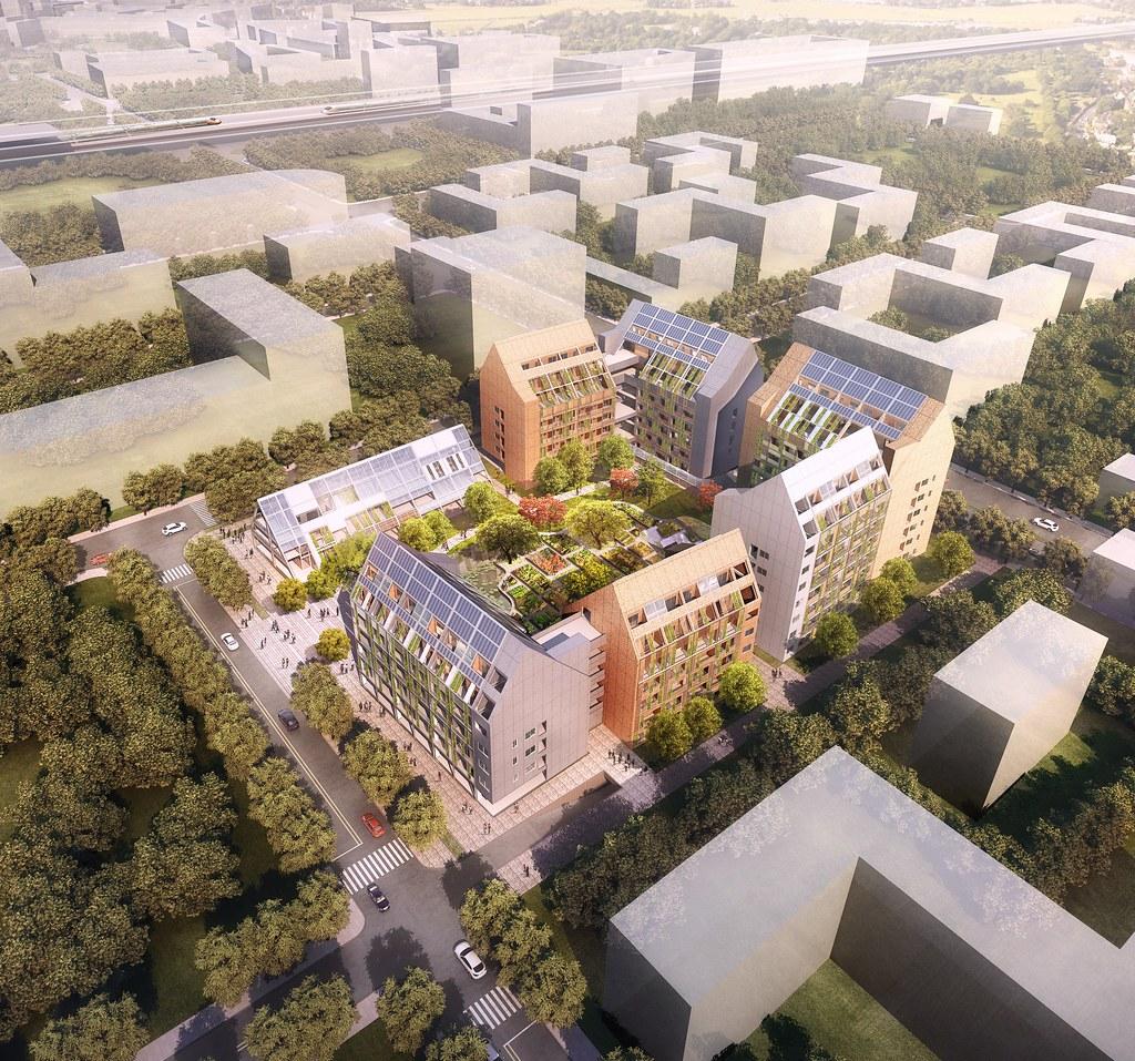 台糖沙崙智慧綠能循環住宅設計圖