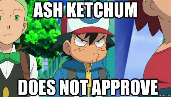 Pokemon Memes Funny Ash Ketchum By Kw Geek