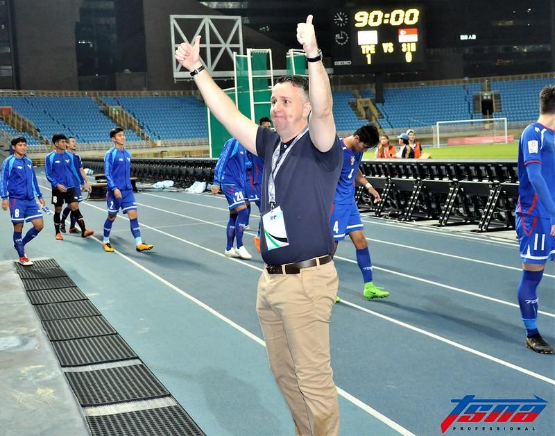 台灣男足總教練Gary White是以運動品牌技術顧問身分前往中國。(資料照,張哲郢/攝)