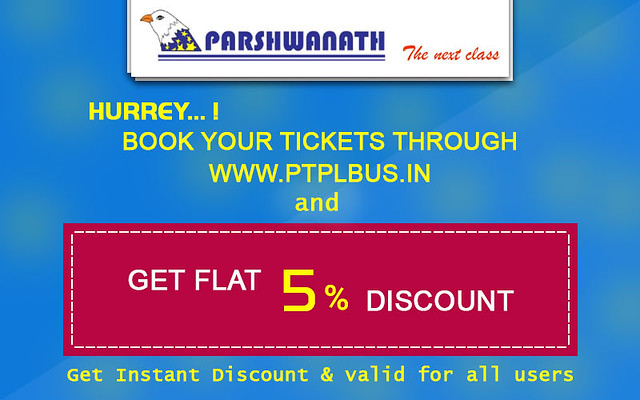 Parshwanath Travels-Responsive PopUp  Banner