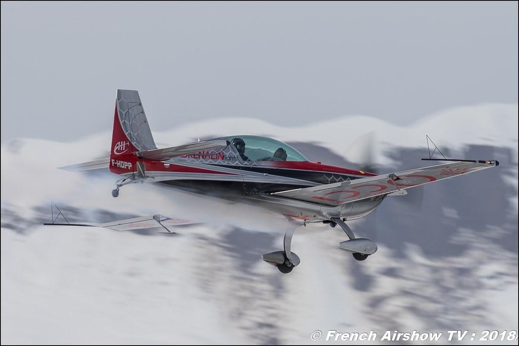 Extra EA-300L - F-HDPP Adrenalin Flights , Fly Courchevel 2018 - Altiport Courchevel , Meeting Aerien 2018