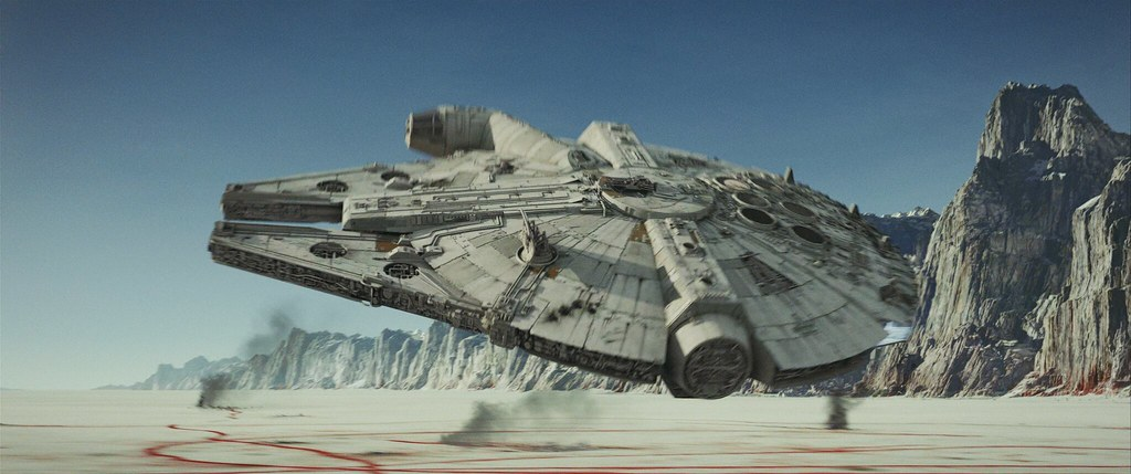 millennium falcon star wars the last jedi 4k lossless