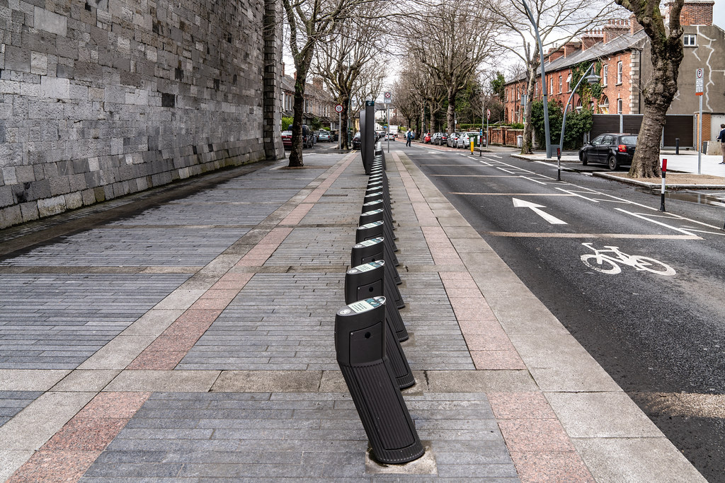 DOCKING STATION 97 - DUBLIN BIKES  003