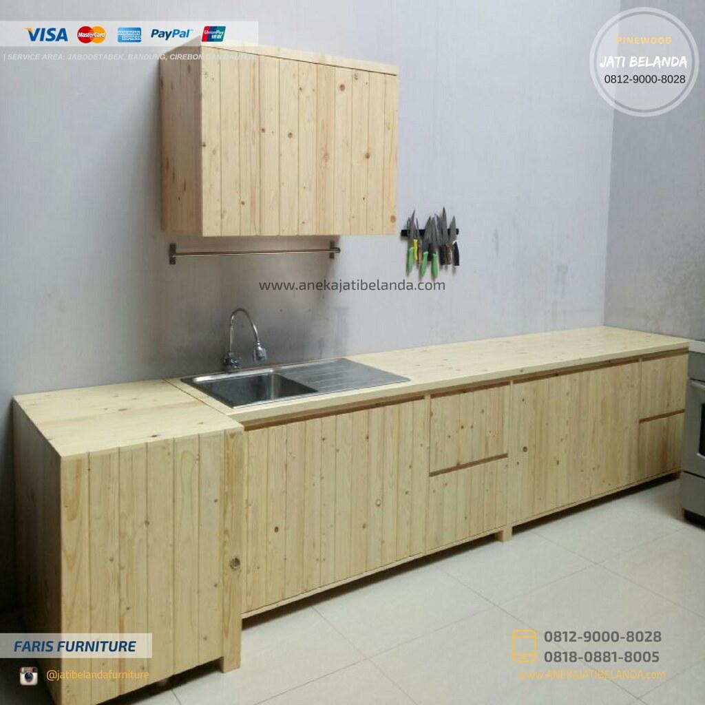 Produsen Kitchen Set Murah Kayu Jati Belanda Harga Rp 1 7 Flickr