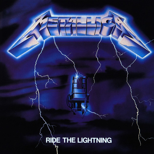 Cover of Ride the Lightning by Metallica