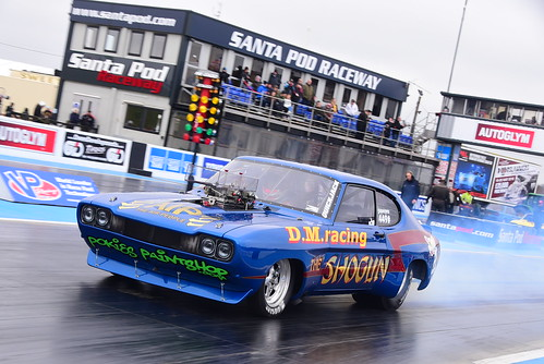 Pel Norman, Ford Capri MK I, Super Pro ET, Festival of Power, Santa Pod 2018