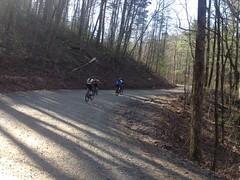 Climbing CCC Camp Road